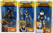 My Hero Academia 7 Inch Action Figure Wave 3 - Set of 3 (Bakugo - Stain - Tenya Lida)