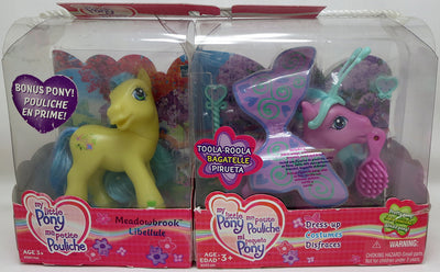 My Little Pony 3.75 Inch Action Figure 2-Pack - Meadowbrook & Toola-Roola (Sub-Standard Packaging)