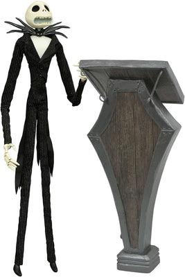 Nightmare Before Xmas 14 Inch Action Figure Deluxe Coffin Doll - Podium Jack