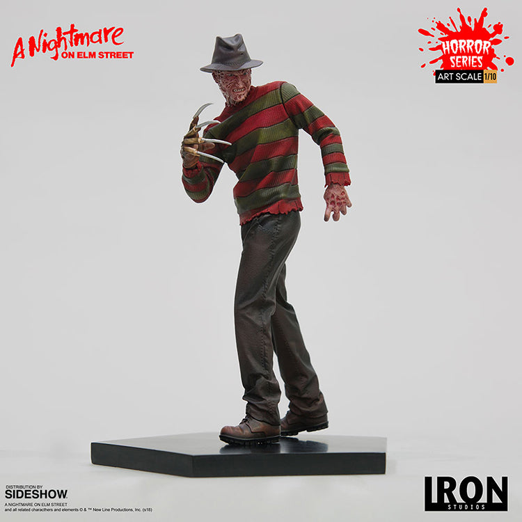 Nightmare on Elm Street 7 Inch Statue Figure 1:10 Art Scale Series - Freddy Krueger Iron Studios 905085