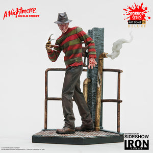 Nightmare on Elm Street 7 Inch Statue Figure 1:10 Art Scale Series - Freddy Krueger Deluxe Iron Studios 904956