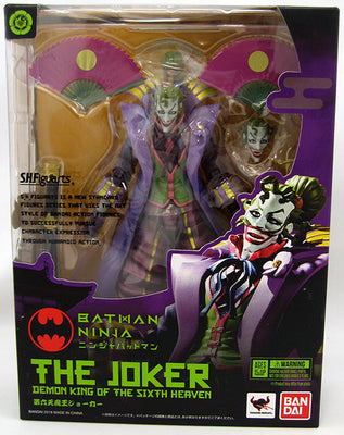 Ninja Batman 6 Inch Action Figure S.H. Figuarts - Joker Demon (Shelf Wear Packaging)