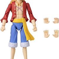 One Piece 6 Inch Action Figure Anime Heroes - Monkyey D. Luffy