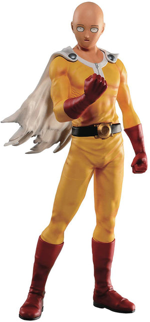 One Punch Man Ichiban 10 Inch Static Figure - Normal Face Saitama