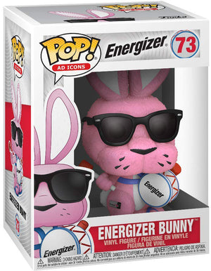Pop Ad Icons 3.75 Inch Action Figure Energizer - Energizer Bunny #73
