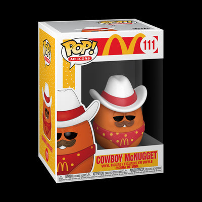 Pop Ad Icons McDonalds 3.75 Inch Action Figure - Cowboy McNugget #111