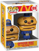 Pop Ad Icons McDonalds 3.75 Inch Action Figure - Officer Mac #89