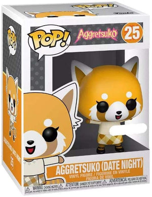 Pop Animation 3.75 Inch Action Figure Aggretsuko - Aggretsuko Dae Night #25 Exclusive