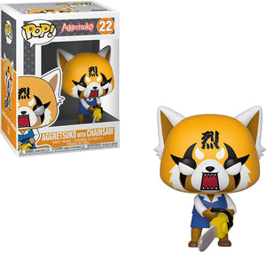 Pop Animation 3.75 Inch Action Figure Aggretsuko - Aggretsuko with Chainsaw #22