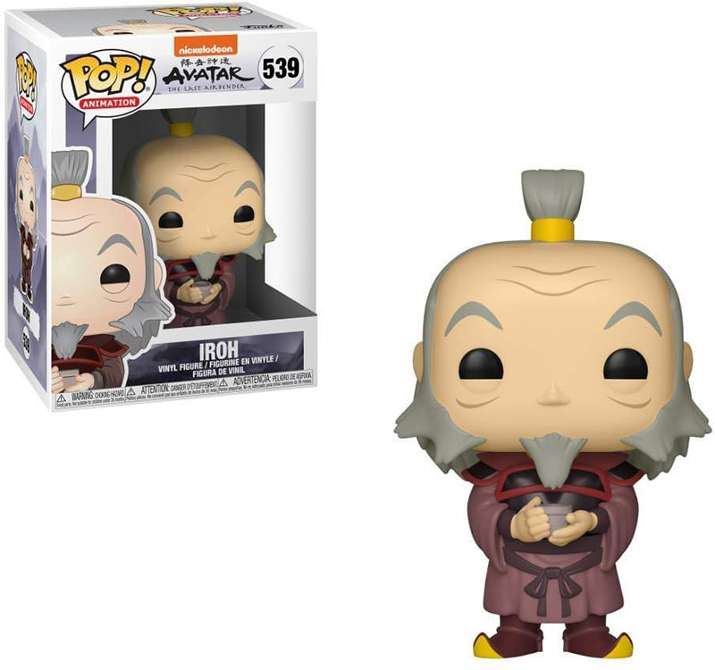 Pop Animation 3.75 Inch Action Figure Avatar The Last Airbender - Iroh #539