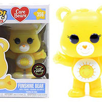 Pop Animation 3.75 Inch Action Figure Care Bear - Funshine Bear #356 Chase