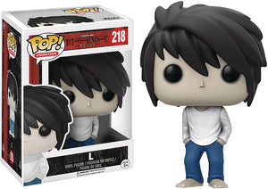 Pop Animation 3.75 Inch Action Figure Death Note - L #218