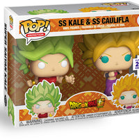 Pop Animation Dragonball Super 3.75 Inch Action Figure 2-Pack - SS Kale & SS Caulifla