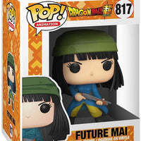 Pop Animation Dragonball Super 3.75 Inch Action Figure - Future Mai #817