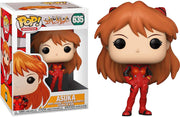 Pop Animation 3.75 Inch Action Figure Evangelion - Asuka Langly #635