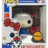 Pop Animation 3.75 Inch Action Figure Hello Kitty - Hello Kitty 8-Bit #31 Chase