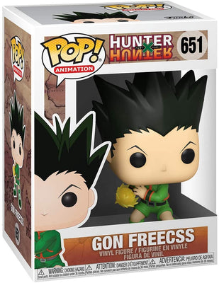 Pop Animation Hunter X Hunter 3.75 Inch Action Figure - Gon Freecss #651