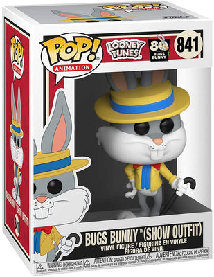 Pop Animation Looney Tunes 3.75 Inch Action Figure - Bugs Bunny in Snow Suit #841