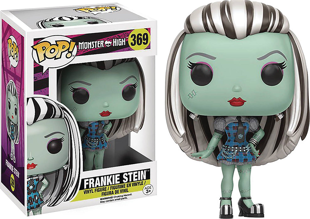 Pop Animation Monster High 3.75 Inch Action Figure - Frankie Stein #369 (Non Mint Packaging)