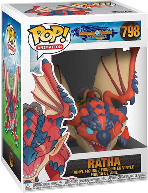 Pop Animation Monster Hunter 3.75 Inch Action Figure - Ratha #798