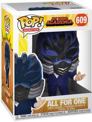 Pop Animation 3.75 Inch Action Figure My Hero Academia - All For One #609