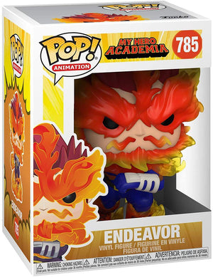 Pop Animation My Hero Academia 3.75 Inch Action Figure - Endeavor #785