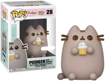 Pop Animation Pusheen The Cat 3.75 Inch Action Figure - Pusheen with Cupcake #28