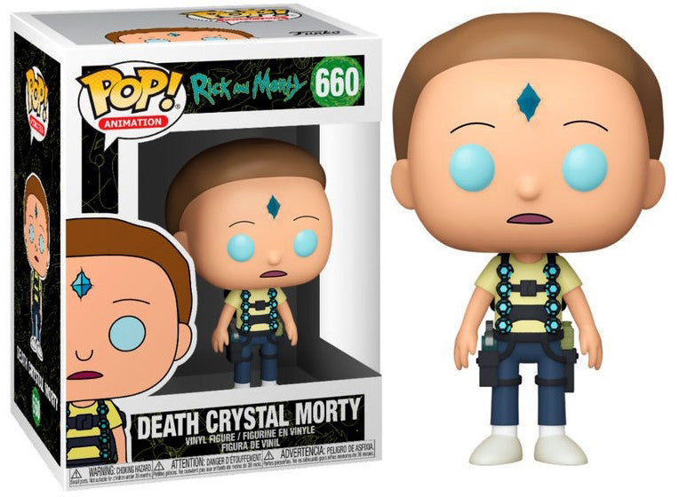 Pop Animation 3.75 Inch Action Figure Rick And Morty - Death Crystal Morty #660