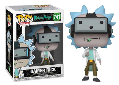 Pop Animation 3.75 Inch Action Figure Rick And Morty - Gamer Rick #741 Exclusive