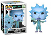 Pop Animation 3.75 Inch Action Figure Rick And Morty - Hologram Rick Clone #659