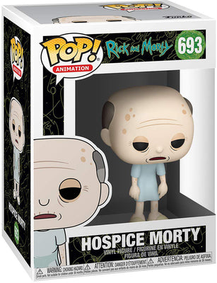 Pop Animation 3.75 Inch Action Figure Rick and Morty - Hospice Morty #693
