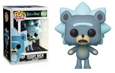 Pop Animation 3.75 Inch Action Figure Rick And Morty - Teddy Rick #662