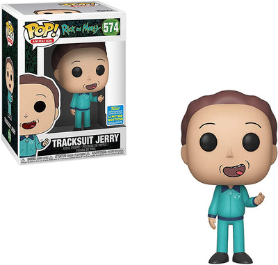 Pop Animation 3.75 Inch Action Figure Rick And Morty - Tracksuit Jerry #574 Exclusive