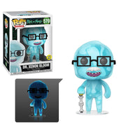 Pop Animation 3.75 Inch Action Figure Rick & Morty - Dr. Xenon Bloom Glow In The Dark #570