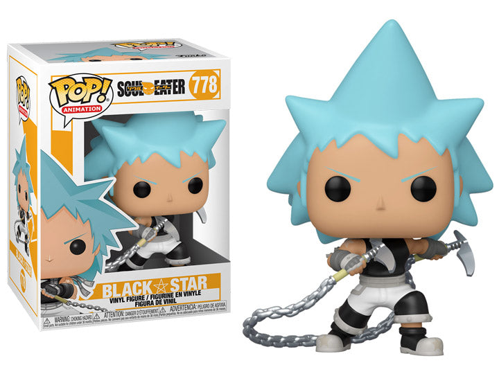 Pop Animation Soul Eater 3.75 Inch Action Figure - Black Star #778