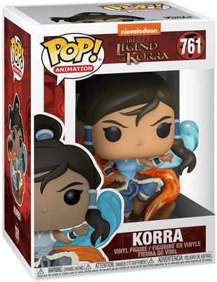 Pop Animation The Legend Of Korra 3.75 Inch Action Figure - Korra #761