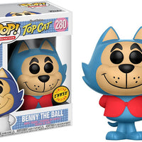 Pop Animation 3.75 Inch Action Figure Top Cat - Benny The Ball #280 Chase