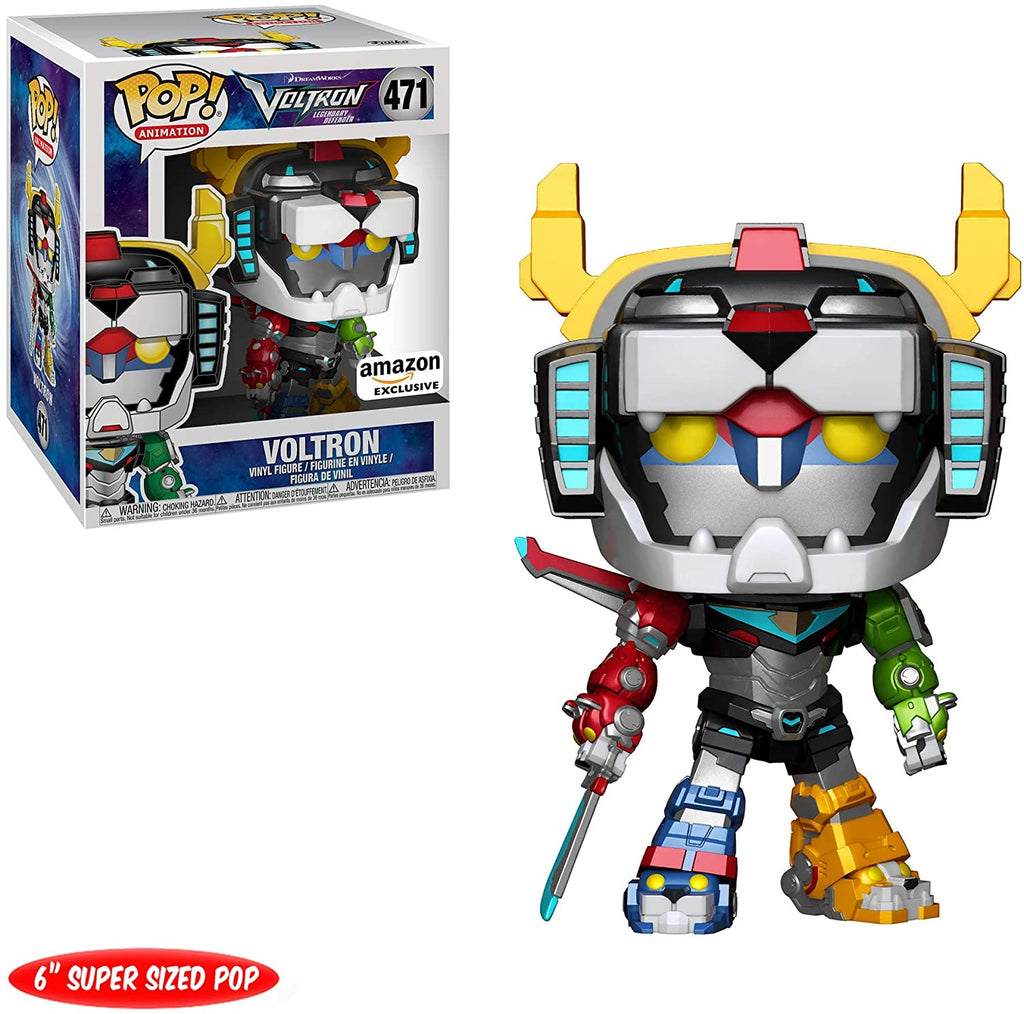 Pop Animation Voltron 6 Inch Action Figure Exclusive - Metallic Voltron #471
