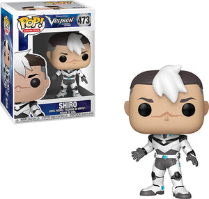 Pop Animation Voltron 3.75 Inch Action Figure - Shiro #473