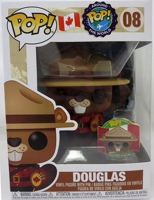 Pop Around The World Canada 3.75 Inch Action Figure - Douglas #08