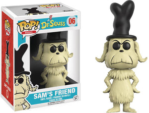 Pop Books 3.75 Inch Action Figure Dr. Seuss - Sam's Friend #06