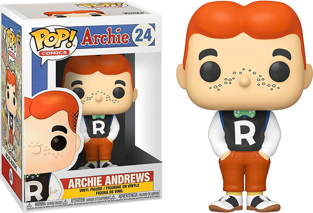 Pop Comics Archie 3.75 Inch Action Figure - Archie Andrews #24