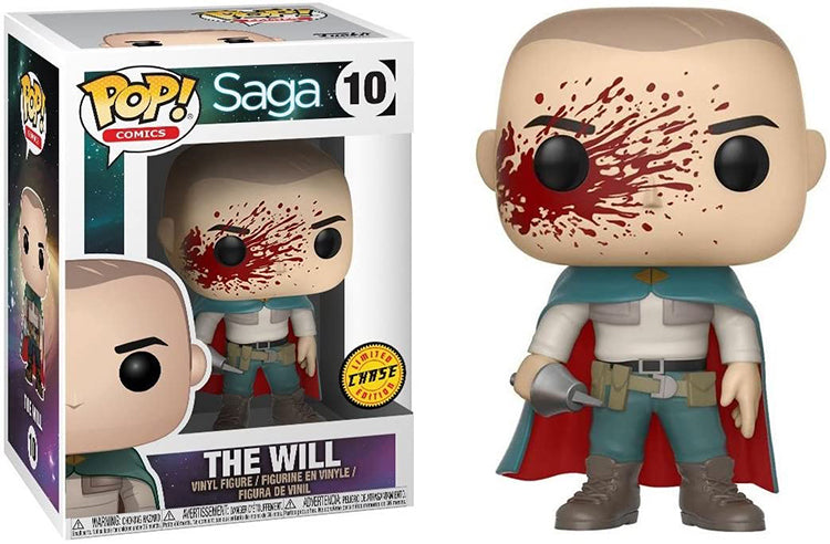 Pop Comics 3.75 Inch Action Figure Saga - The Will #10 Chase