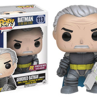 Pop DC Heroes 3.75 Inch Action Figure Batman The Dark Knight Returns - Armored Batman #113 Exclusive