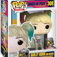 Pop DC Heroes 3.75 Inch Action Figure Birds Of Prey - Harley Quinn and Beaver #308