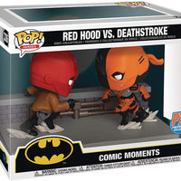 Pop DC Heroes Comic Momends 3.75 Inch Action Figure SDCC 2020 - Red Hood vs Deathstroke