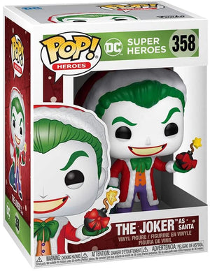 Pop DC Heroes DC Holiday 3.75 Inch Action Figure - The Joker as Santa #358