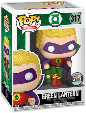 Pop DC Heroes Green Lantern 3.75 Inch Action Figure Exclusive - Green Lantern #317