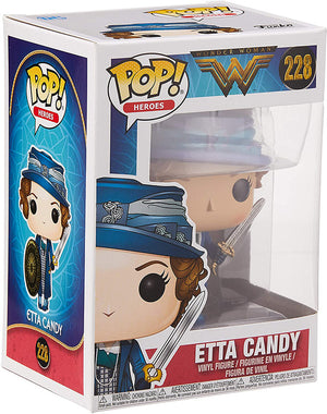 Pop DC Heroes Wonder Woman 3.75 Inch Action Figure - Etta Candy #228