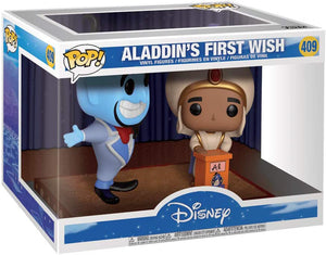 Pop Disney Aladdin 3.75 Inch Action Figure - Aladdin's First Wish #409